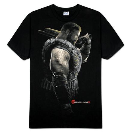 Gears Of War - Dom Portrait - T-Shirt