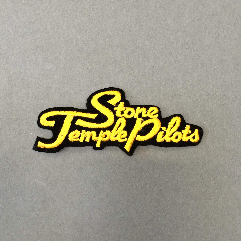 Stone Temple Pilots GulSvart Logo Tygmärke, Tygmärken