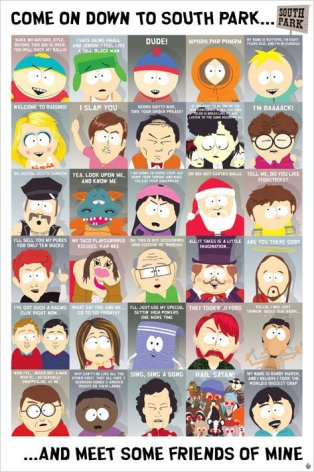 Poster - South Park - Quotes 2