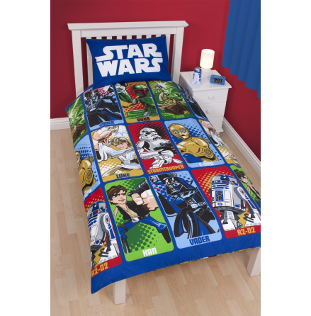 Star Wars - Cartoon - Single Bed Set