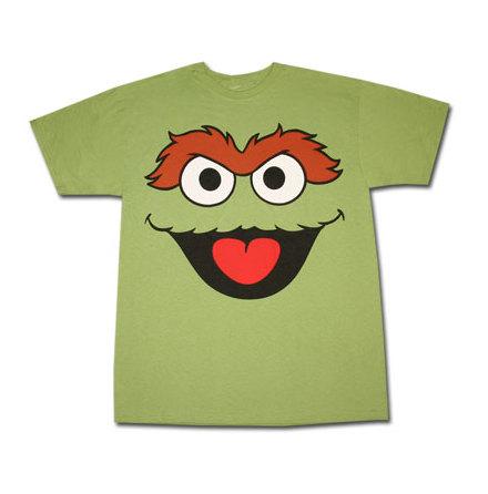 Sesame Street - Oscar Green
