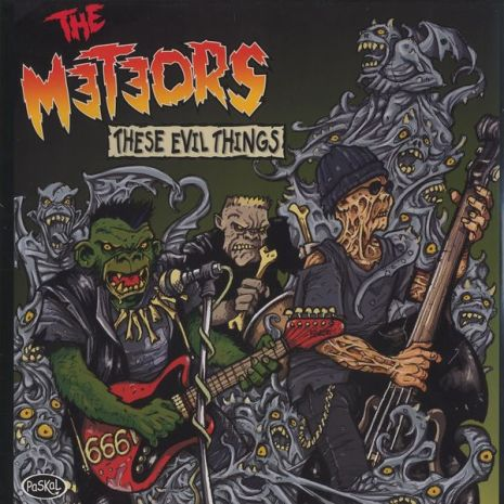 LP - The Meteors - These Evil Things