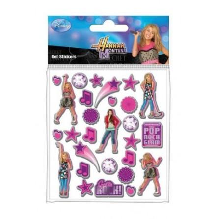Hannah Montana - Gel Stickers - Klistermärken