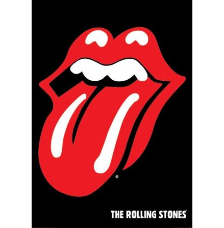 Poster - Rolling Stones - Tounge