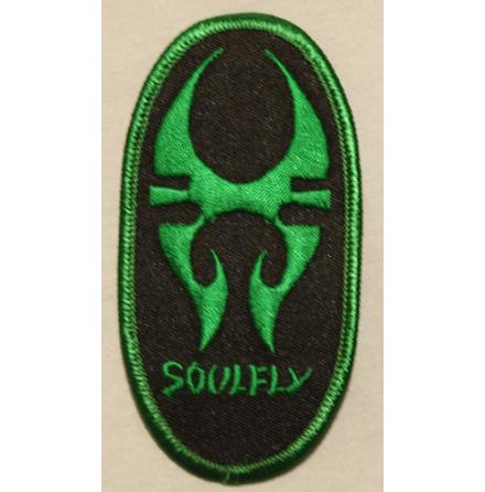 Soulfly - Logo w/Tribal - Tygmärke