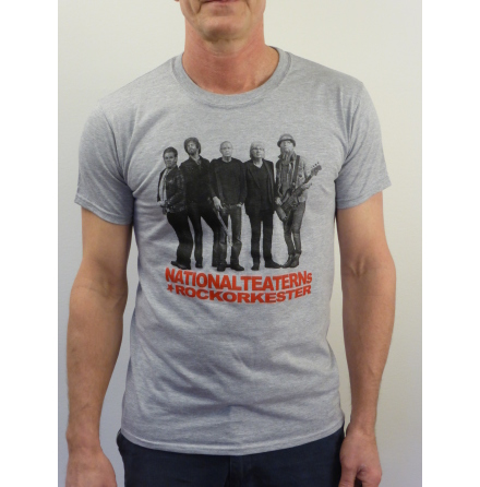 Grå t-shirt - Nationalteaterns Rockorkester 2014