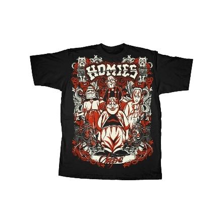 T-Shirt - Lock Up - Homies