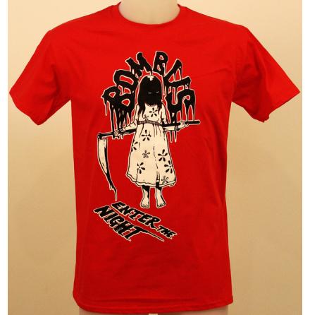 T-Shirt - Enter - Röd