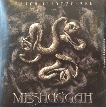 Klistermärke - Meshuggah