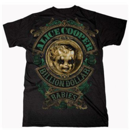 T-Shirt - Billion Dollar Baby Crest