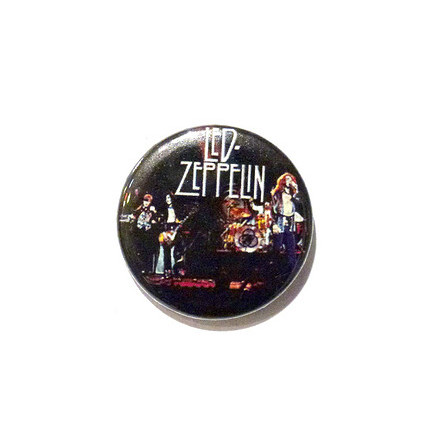 Led Zeppelin - Live - Badge