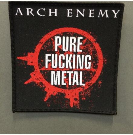 Arch Enemy - Pure Fucking Metal - Tygmärke