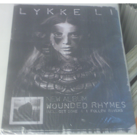 Poster - Lykke Li - Wounded Rhymes
