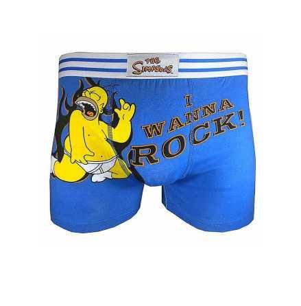 Simpsons - I Wanna - Boxer Shorts