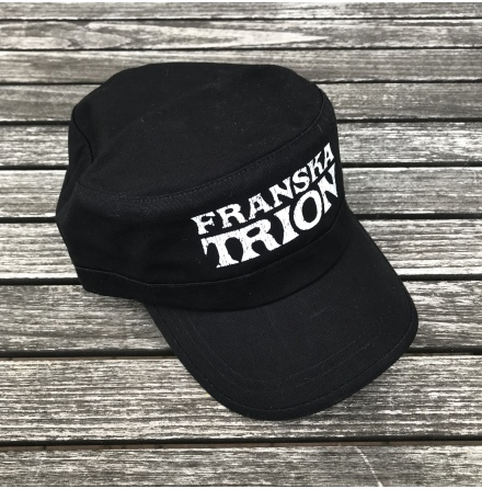 Army Cap Black Logo