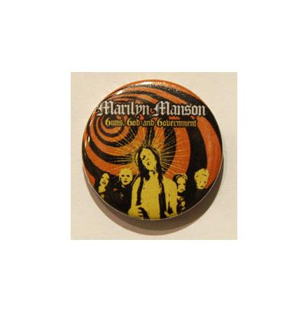 Manson Marilyn - Guns - Badge