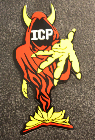 Insane Clown Posse - Röd/Gul - Klistermärke