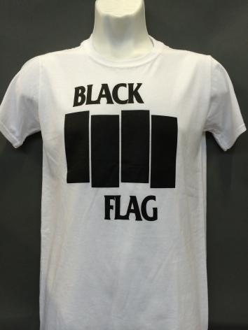 T-Shirt - Flag Logo Vit